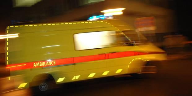 Une personne entre la vie et la mort après une sortie de route à Tilff - La DH