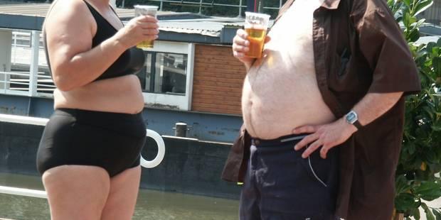 Près de la moitié des Belges sont trop gros... - La DH