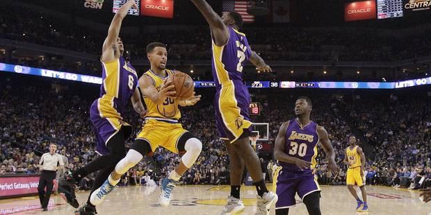 NBA: un record pour les Warriors (PHOTOS & VIDÉO) - La DH