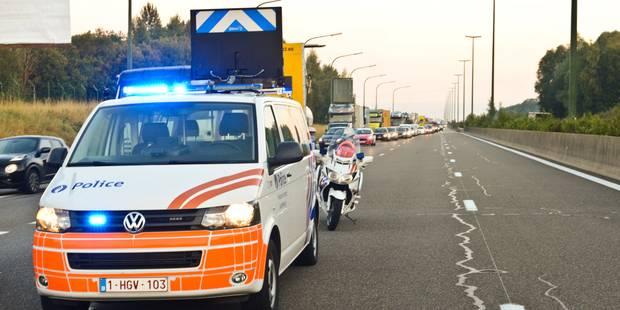 Accident impliquant deux camions sur l'E19 à Pommeroeul - La DH