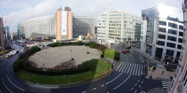 Schuman, future zone piétonne (INFOGRAPHIE) - La DH