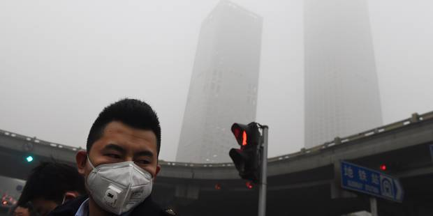 Pékin étouffe sous un nuage de pollution (VIDEO) - La DH