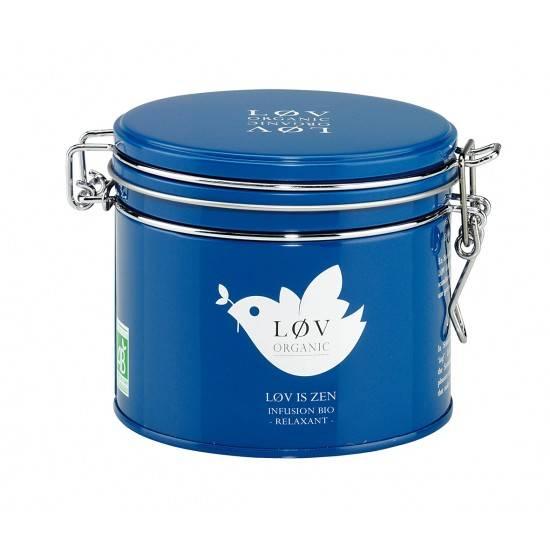 Løv Organic, c'est une gamme de thés et infusions bio, délicieux et bien présentés. 100gr, 11,80€. http://www.lov-organic.com/