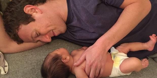 La petite Max, fille de Mark Zuckerberg, déjà star sur Facebook - La DH