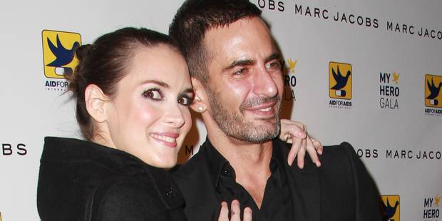 Winona Ryder, 44 ans, la beauté selon Marc Jacobs - La DH