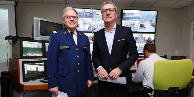 Dans le PC Gold, la police a accès aux 300 caméras de Bruxelles (VIDEO) - La DH