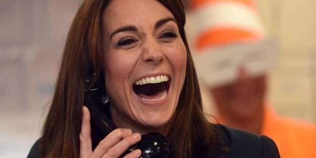 Pourquoi Kate Middleton rit-elle autant ? - La DH