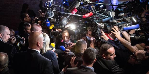 Ambiance dans le fief de Marine Le Pen: douche froide pour le FN (PHOTOS) - La DH