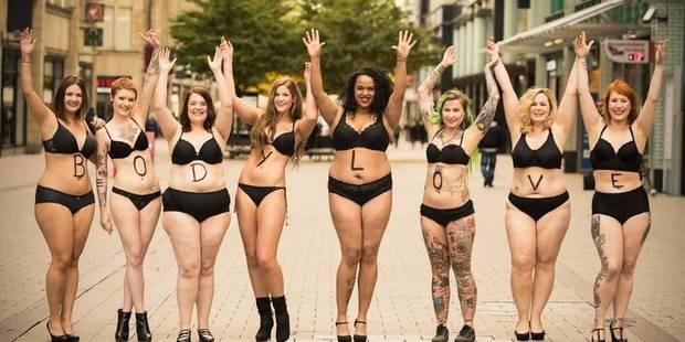 #BodyLove : femmes et hommes se dénudent pour célébrer la beauté des corps - La DH