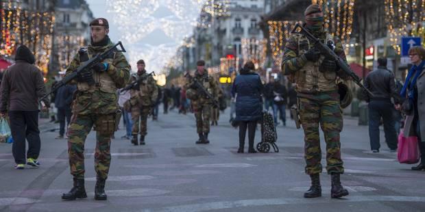 """Une menace """"du même style que les attentats de Paris"""" vise Bruxelles et ses policiers - La DH"""