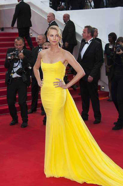 Charlize Theron à Cannes