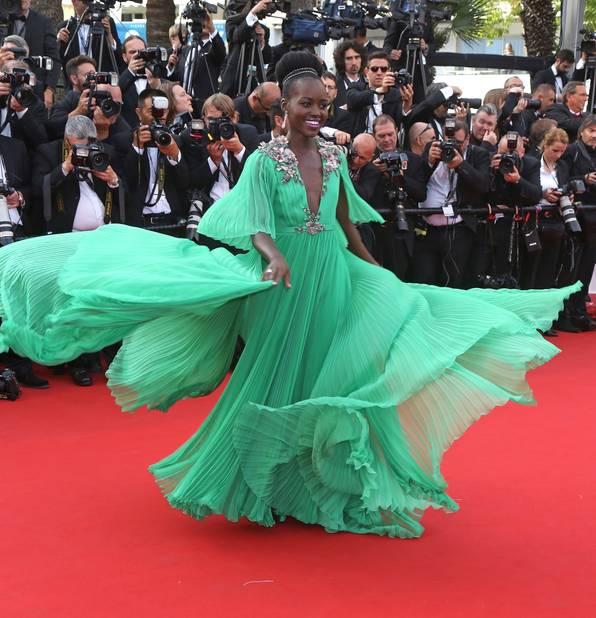 Lupita Nyong'o à Cannes