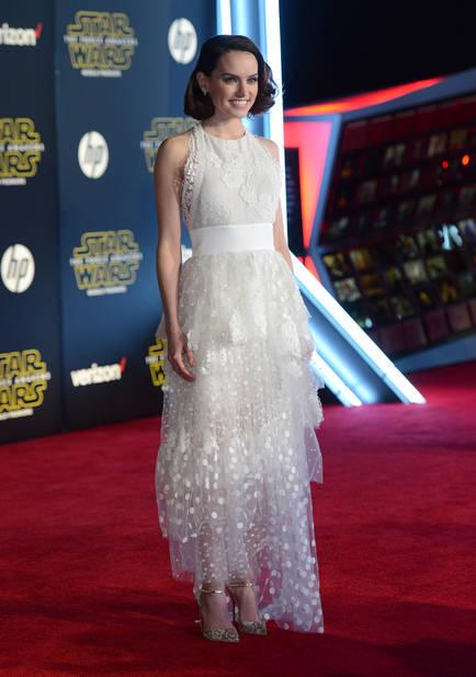 Daisy Ridley pour la sortie de Star Wars