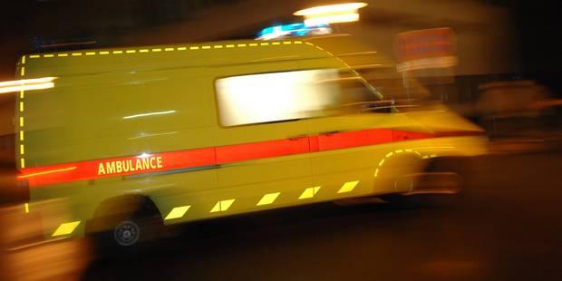 Anderlecht: une piétonne en danger de mort après avoir été renversée - La DH