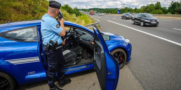 France: un résident belge flashé à 255km/h le jour du Nouvel An - La DH