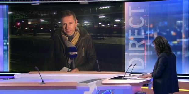 La bourde d'un journaliste de RTL en plein direct (VIDEO) - La DH