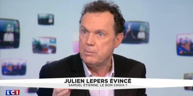 """Julien Lepers ne décolère pas: """"Scénario pervers, bien organisé"""" (VIDEO) - La DH"""