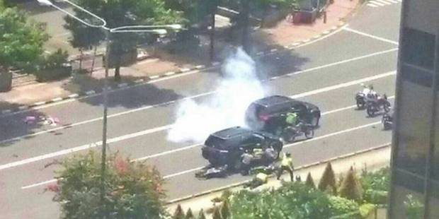 Terreur à Jakarta: sept morts dont cinq assaillants, l'Etat islamique revendique l'attaque (PHOTOS) - La DH