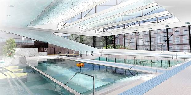 Phase travaux piscine waremme tout for Piscine d outremeuse