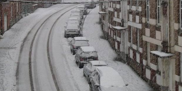 Chutes de neige: Les Namurois priés de rester chez eux - La DH