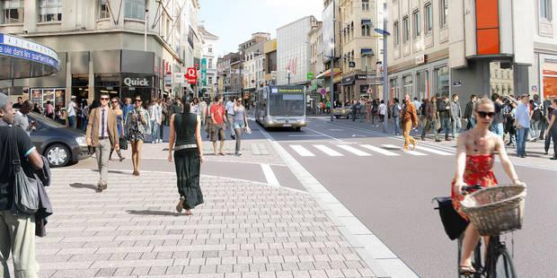 Le projet de tram 71 est mort, la chaussée d'Ixelles sans voiture d'ici 2018 (IMAGES) - La DH