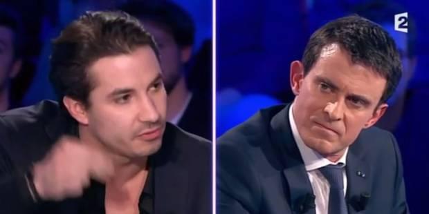 ONPC: ça chauffe entre Jérémy Ferrari et Manuel Valls - La DH