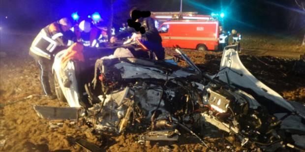 Wangenies : un mort et deux blessés lors d'une collision avec un arbre - La DH