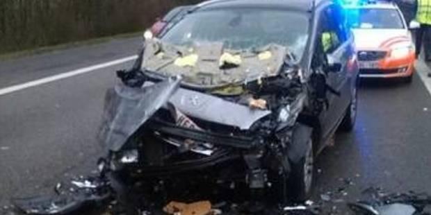 Luttre: Deux camions-tampons emboutis en 3 heures sur l'autoroute A54 - La DH