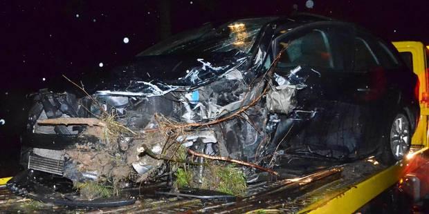 Violente embardée à Leuze-en-Hainaut - La DH