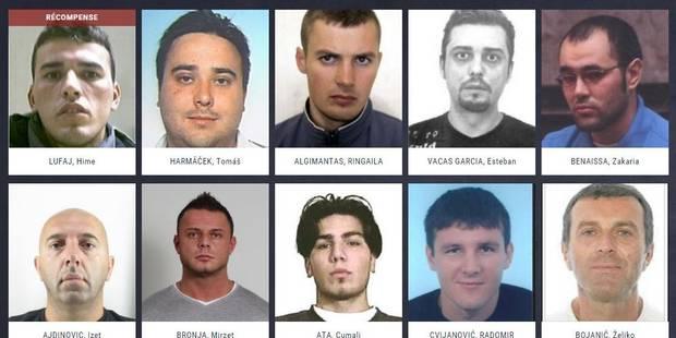 """""""Most wanted"""": voici les personnes les plus recherchées d'Europe - La DH"""