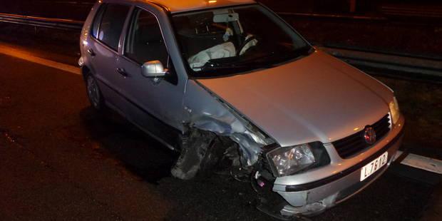 Thiméon: Trois voitures dans le décor sur l'A54 - La DH