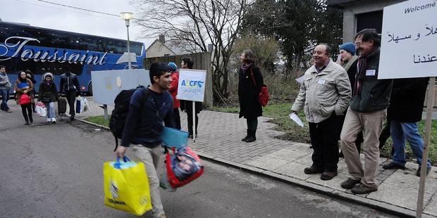 """Réfugiés à Couvin: """"Un accueil pas si catastrophique"""" - La DH"""