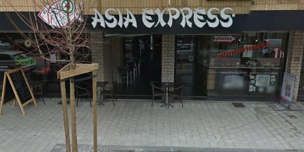 Fermeture des asia express jambes et namur des for Cdc luxembourg