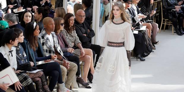 Pharrell Williams, Maria Sharapova, Gigi, Kendall, et les autres au défilé Chanel - La DH