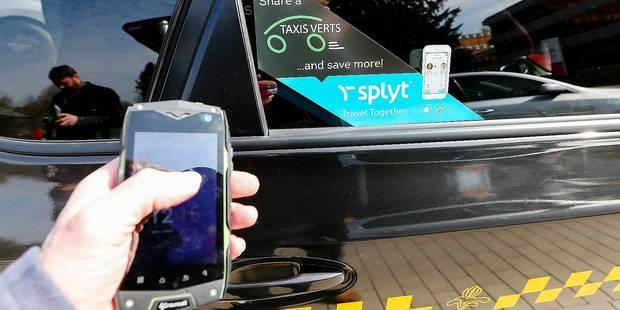 Une appli pour partager son taxi - La DH