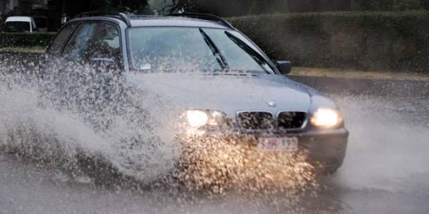 8 automobilistes sur 10 pour une réduction de la vitesse en cas de pluie - La DH