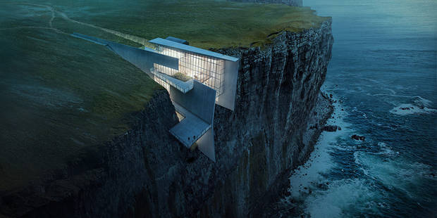 Habiteriez-vous cette maison à flanc de falaise ? - La DH