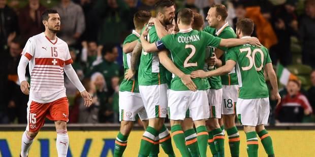L'Irlande, adversaire des Diables à l'Euro, écarte les Suisses - La DH