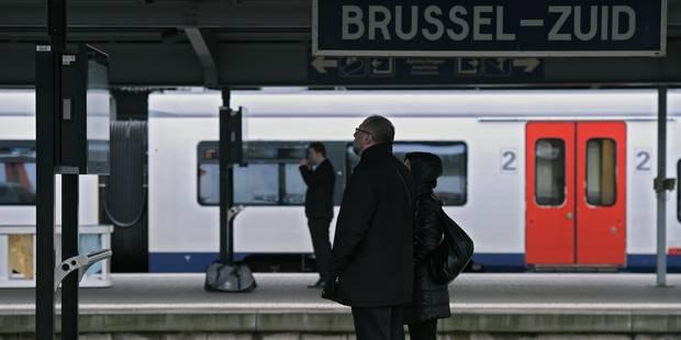 Des trains circulaient encore sur l'axe nord-midi à Bruxelles après 10h le jour des attentats - La DH