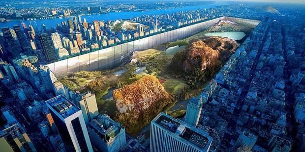 Central Park réinventé, le projet fou de deux architectes - La DH
