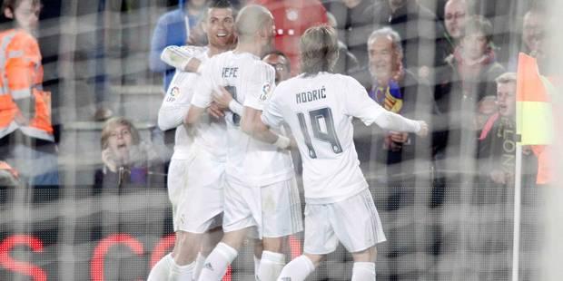 Liga: Ronaldo illumine le premier clasico de Zidane - La DH