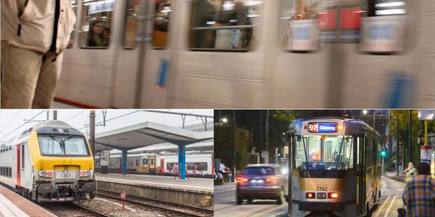 Trains, trams, métros, avions: voici à quoi vous attendre ce lundi - La DH