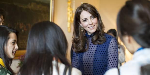 Kate Middleton joue la transparence - La DH