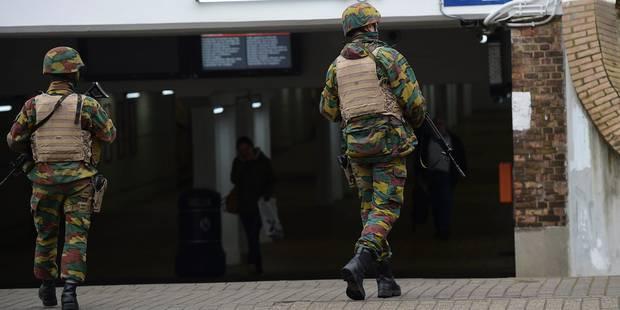 Attentats de Bruxelles: 1800 militaires désormais mobilisés, des moyens supplémentaires requis - La DH