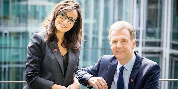 Hakima Darhmouch et François de Brigode, heureux de collaborer à nouveau - La DH