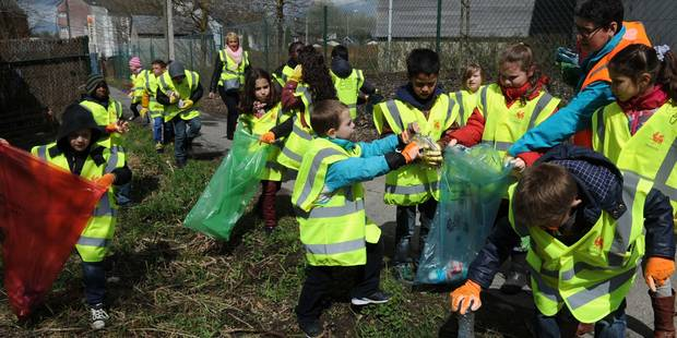 Bastogne: forte mobilisation pour une commune plus propre (PHOTOS) - La DH