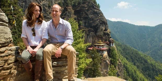 Kate Middleton et William en plein trek dans les montagnes du Bhoutan - La DH