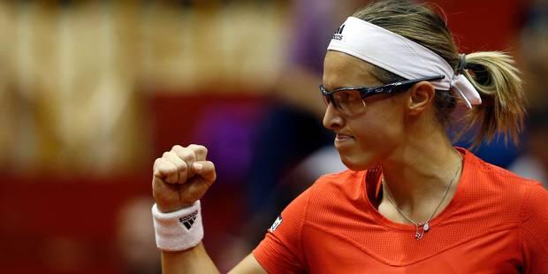 Fed Cup: la Belgique bat la Serbie 3 à 2, de retour dans le groupe mondial II - La DH