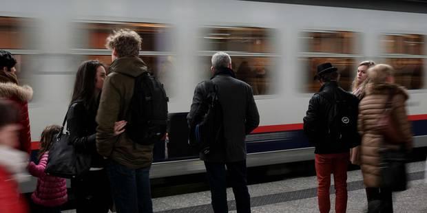 Le service ferroviaire a été entièrement rétabli à Brussels Airport - La DH