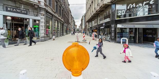 Liège innove: des rues limitées à 5 km/h - La DH